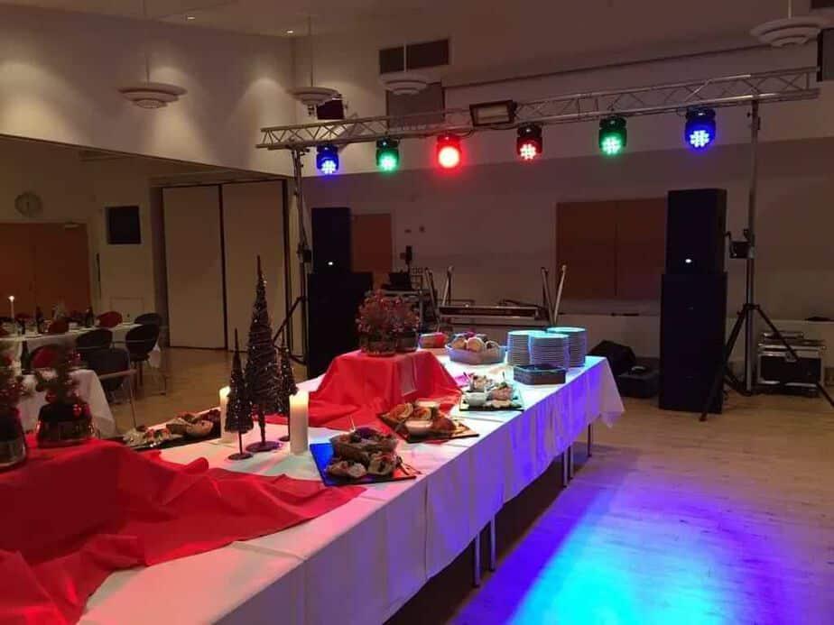 Maxvolume mobildiskotek fest med lysshow